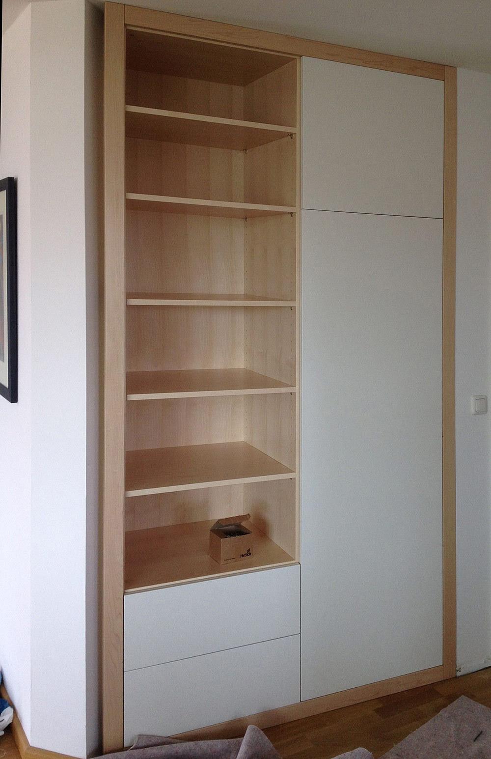 garderobe nische swalif. Black Bedroom Furniture Sets. Home Design Ideas